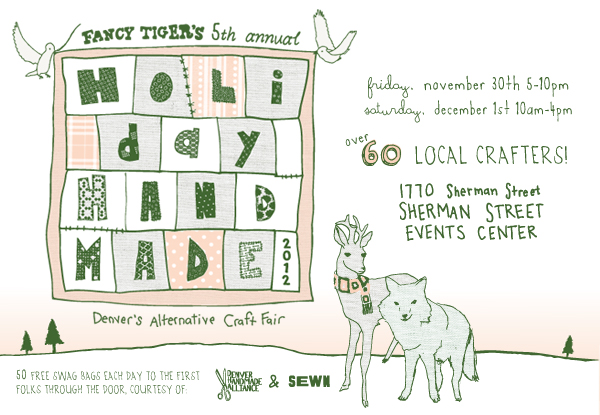 Get ready for fancy tiger s holiday handmade craft fair for Sugarloaf craft festival nj