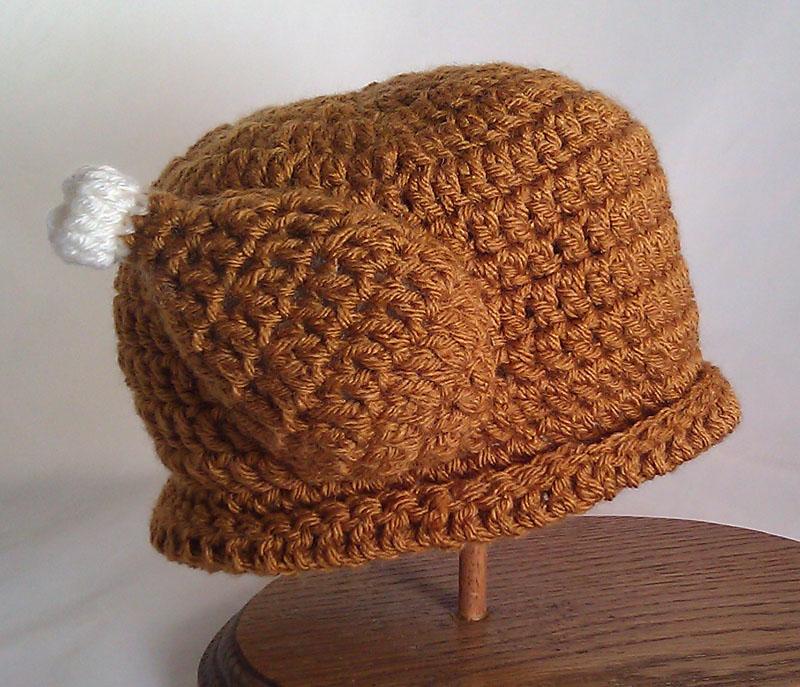 Make It Challenge 1 Crochet Turkey Hat Squirrel Picnic