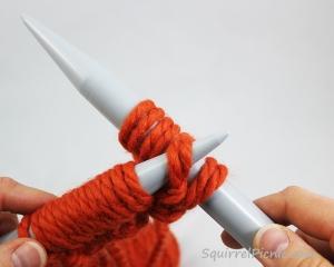 Squirrel Picnic Knit Scarf 15