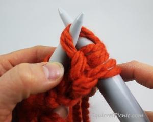 Squirrel Picnic Knit Scarf 16
