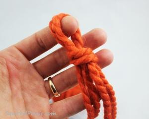 Squirrel Picnic Knit Scarf 3