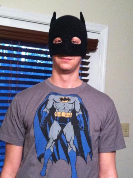 Free Crochet Patterns For Batman Hats : Make It! Challenge #4: Crochet Batman Mask Squirrel Picnic