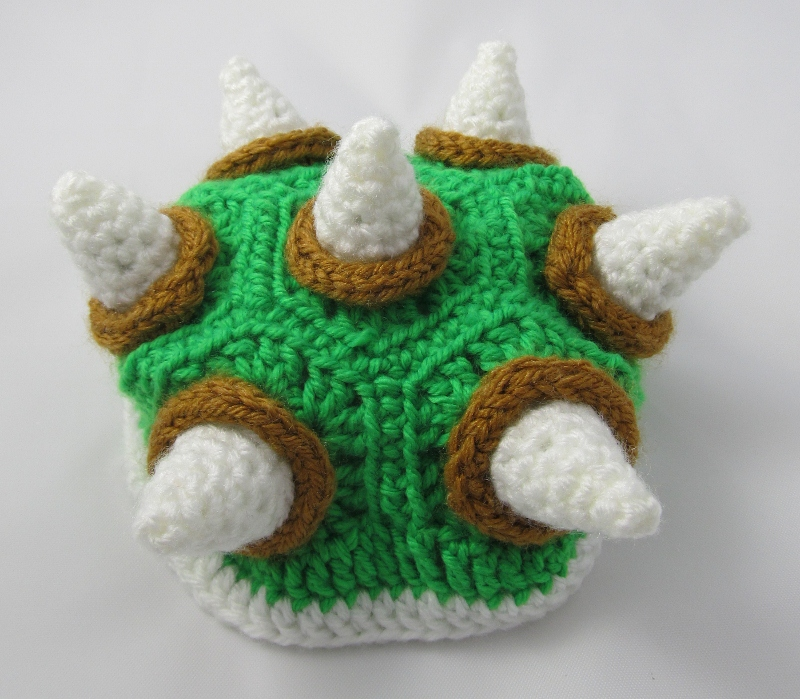 Knitting Pattern For Tortoise Coat : Make It! Challenge #5: Crochet Bowser Sweater for a Turtle ...