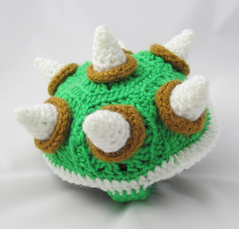 make it challenge 5 crochet bowser sweater for a turtle
