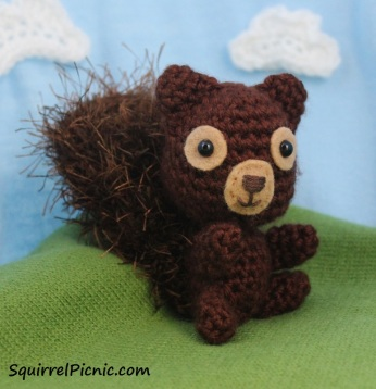 Crochet Squirrel by Squirrel Picnic