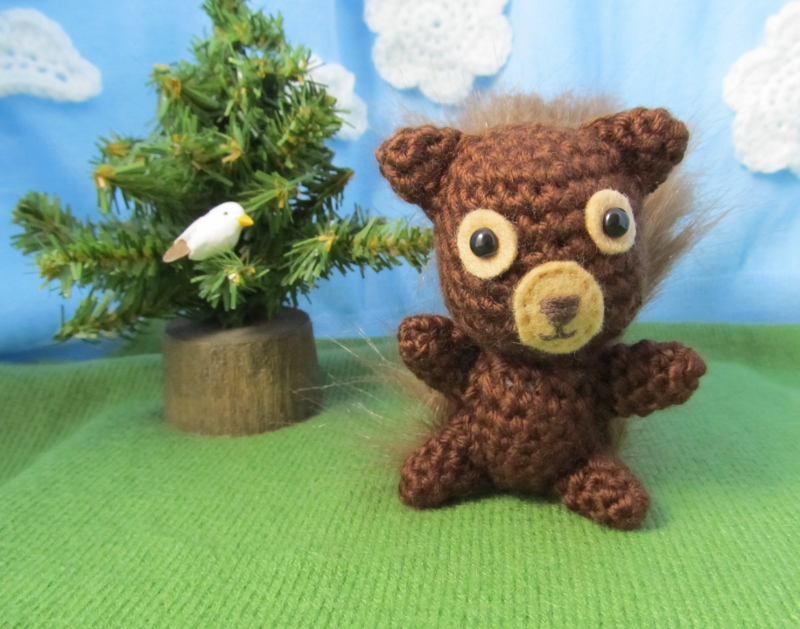 Crochet Your Own Squirrel Friend Patterns For Hodge And