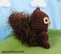 Squirrel Amigurumi by Squirrel Picnic