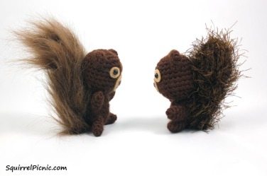 Squirrel Crochet Pattern by Squirrel Picnic