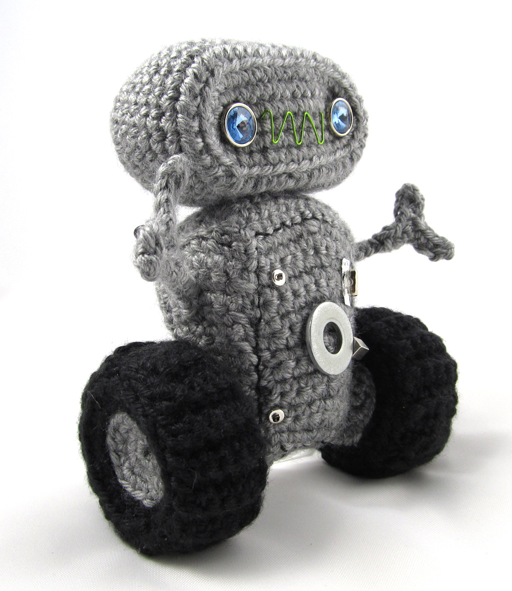 Cuddly Robot Crochet Pattern Squirrel Picnic