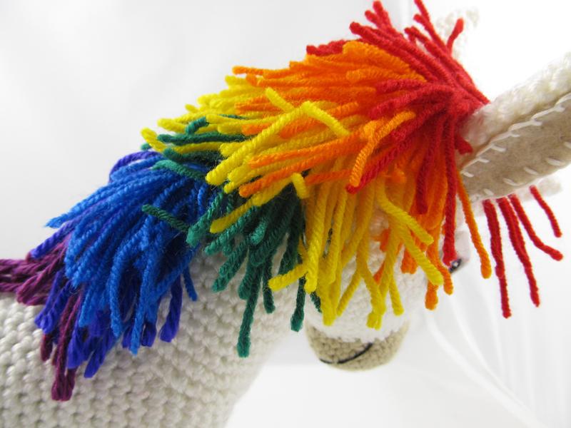 Make The Cut >> Make It! Challenge #7: Rainbow Donkey   Squirrel Picnic