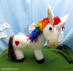 Rainbow Donkey