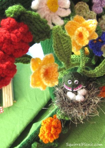 Hummingbird in Nest