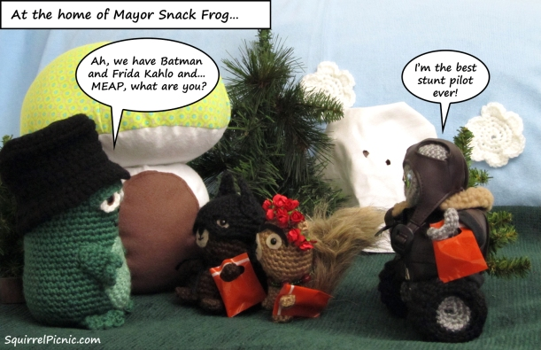 Squirrel Picnic Comic Halloween 2
