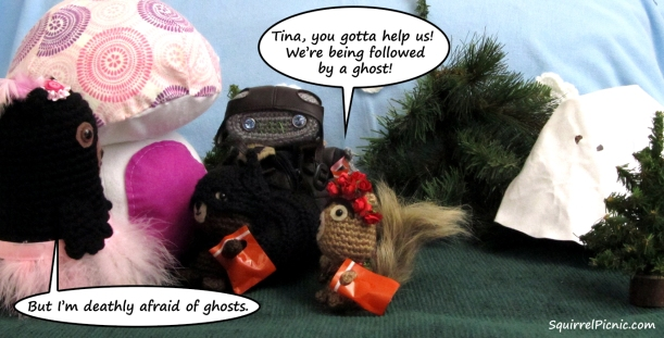 Squirrel Picnic Comic Halloween 6