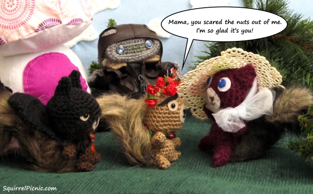 Squirrel Picnic Comic Halloween 9