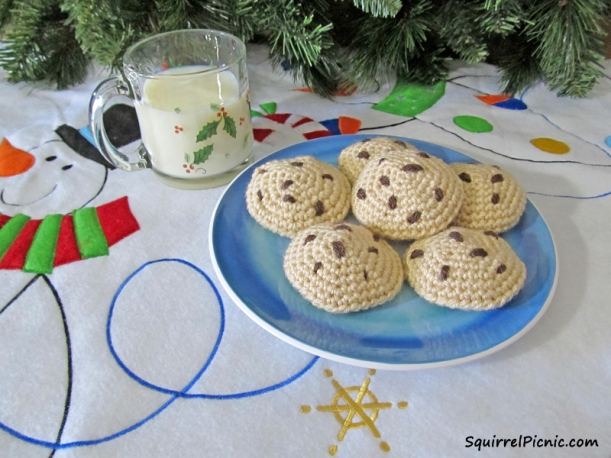Chocolate Chip Cookie Pattern from Squirrel Picnic