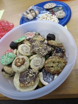 Cookies, cookies, cookies.