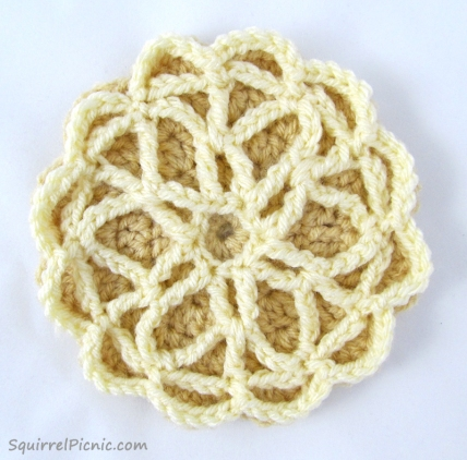 Pizzelle Free Crochet Pattern from Squirrel Picnic