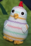 Rainbow Chicken Crochet Pattern by Squirrel Picnic3