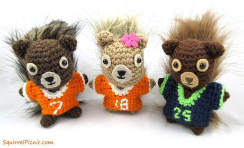 Squirrel Football Jerseys