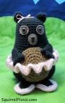 Tina Ballerina Bear Crochet Pattern