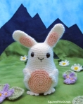 Jelly Belly Bunny Crochet Pattern by Squirrel Picnic