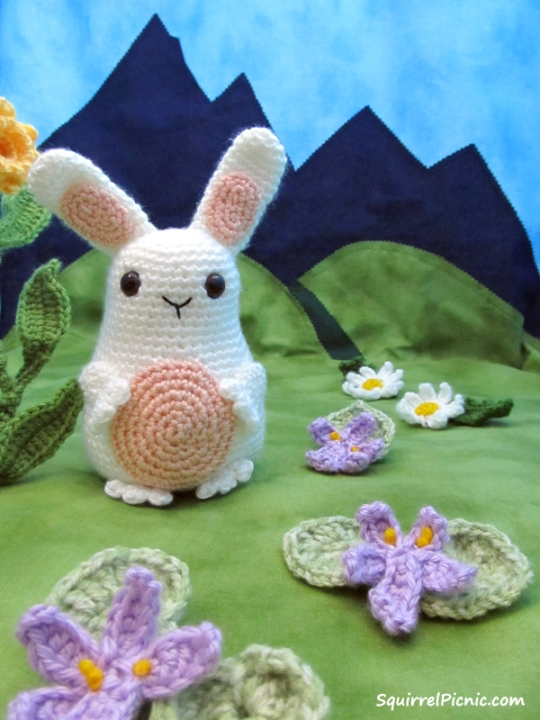 Jelly Belly Bunny Pattern by Squirrel Picnic