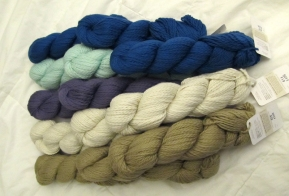 Blue Skies Alpaca Worsted Cotton for the Sleepyz Blanket