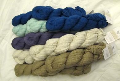 Blue Skies Alpaca Worsted Cotton for the Sleepyz Blanket