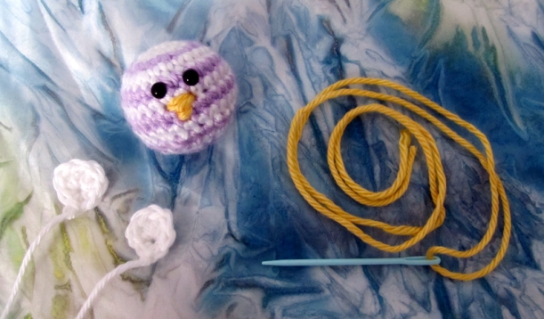 Crochet a Baby Rainbow Chick