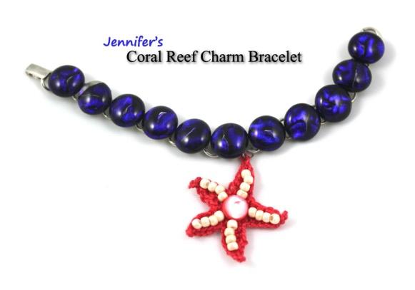 Jennifer's Coral Reef Charm Bracelet