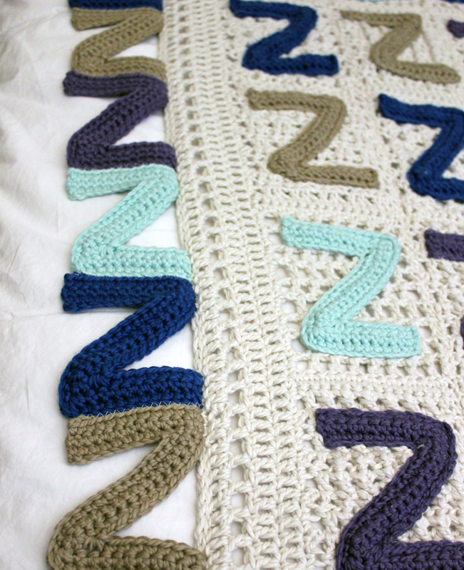 The Sleepyz Blanket Crochet Pattern Squirrel Picnic
