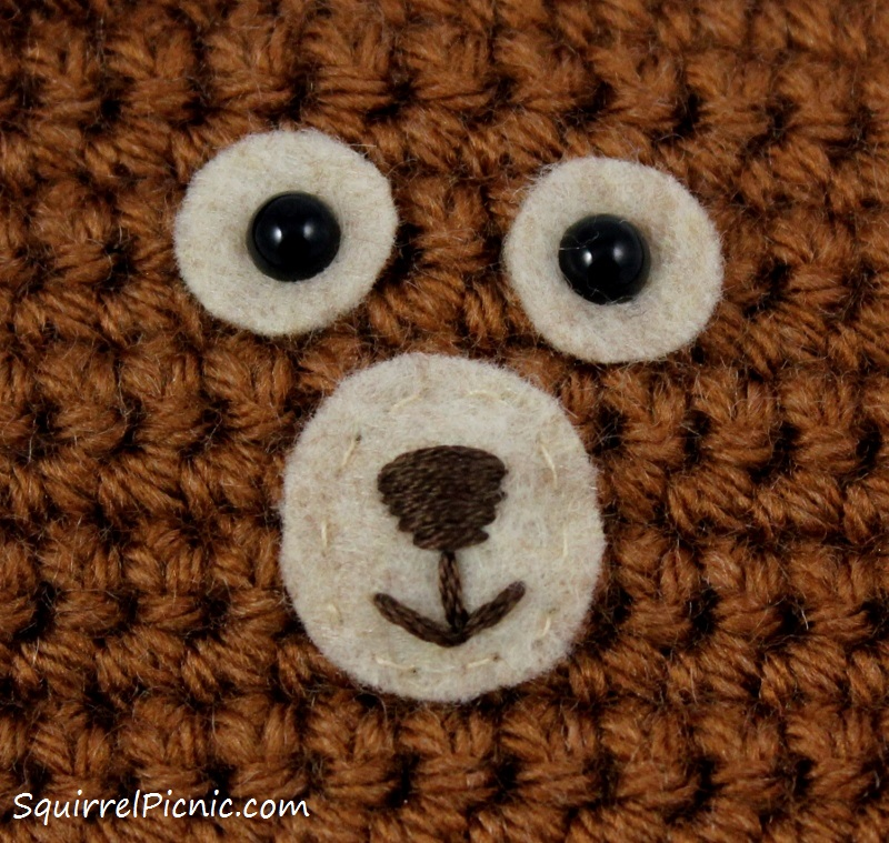 Embroidering Amigurumi Faces : How to Add Faces to Your Amigurumi: Safety Eyes with ...