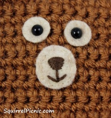 How to Embroider a Squirrel Face Tutorial