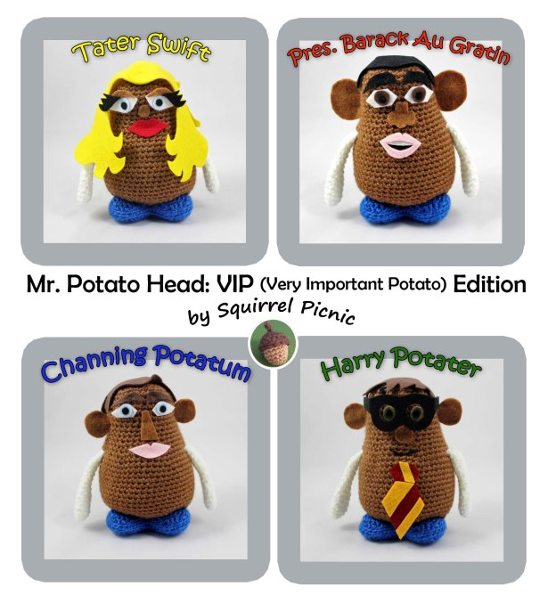 Mr. Potato Head VIP Edition by Squirrel Picnic