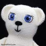 Satin Stitch Embroidery for Amigurumi by Squirrel Picnic