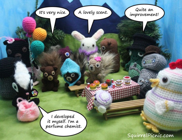 Squirrel Picnic Comic 10