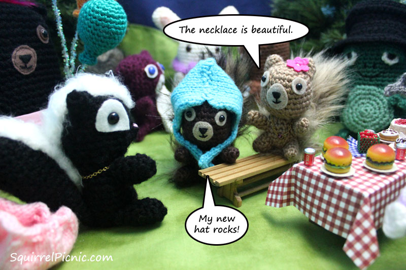 Squirrel Picnic Comic 2