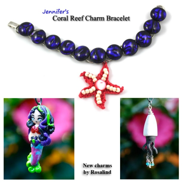 Jennifer's Coral Reef Bracelet August 2014