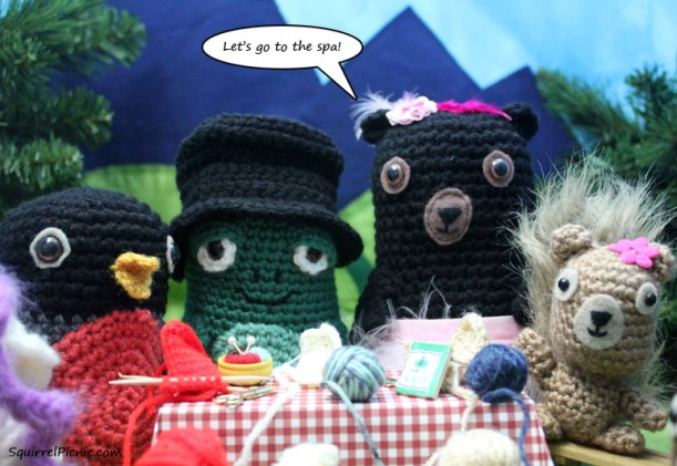 SQUIRREL PICNIC (the comic): A Day at the Spa Join us at the picnic for more lighthearted fun!
