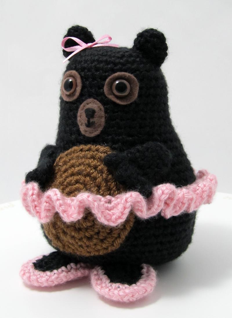 Tina Ballerina Bear Crochet Pattern Squirrel Picnic
