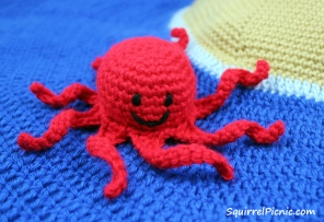 Crochet Octopus by Squirrel Picnic