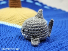 Crochet Shark by Squirrel Picnic