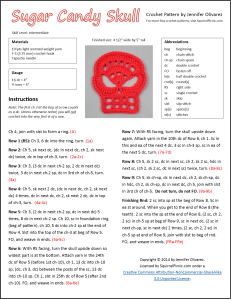 Crochet Skull Pattern Page 1