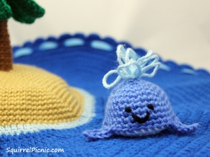Crochet Whale Toy by Squirrel Picnic