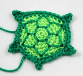 Embroider Turtle Shell