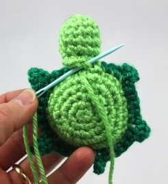 Sew on Turtle Head