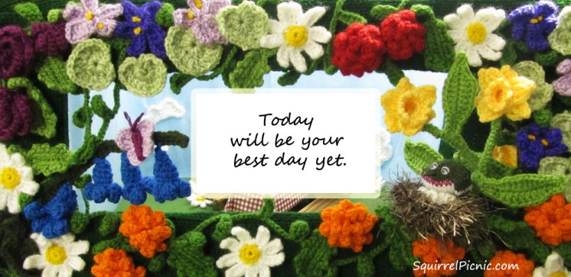 Today will be your best day yet
