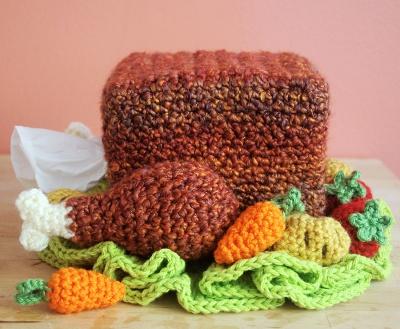 Twinkie Chan Turkey Tissue Cozy