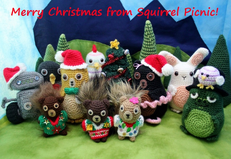 Merry Christmas from Your Friends at Squirrel Picnic